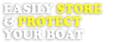 Easily store and protect your boat with a boat lift system from Dvorak's Docks