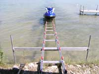 Ramp Systems For Difficult Shorelines and Boat Houses